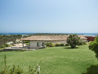 Villa Bellavista, immersa nel verde con vista mare mozzafiato