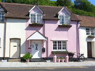 Sleeps 3 + Cot Two Bedroom Grade II Listed Cottage In The Heart Of Dunster Villa