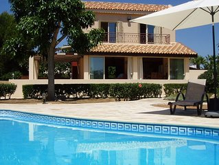 Special villa within walking distance of one of the very best beaches in Cyprus.