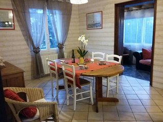 Appartement bien situe sur la Cote de granit rose. 2 CHAMBRES+2 SDB-3 clevacance