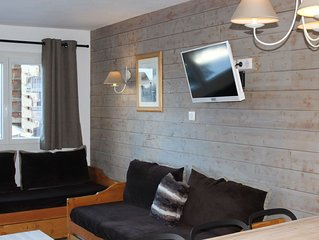 Grand appartement lumineux pour 6/7 personnes au coeur d'Avoriaz