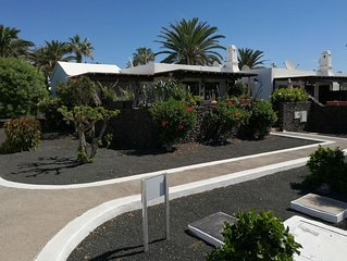 No5A Spacious two bed bungalow,Casas del Sol, Communal pool. Free WiFi.  Sky TV,