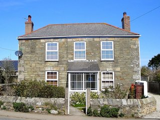 Lovely detatched cottage in St Agnes, with private garden & off road parking.