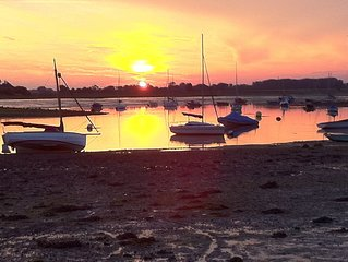 Lovely Harbour side accommodation in Prinsted, nr Chichester,England,UK