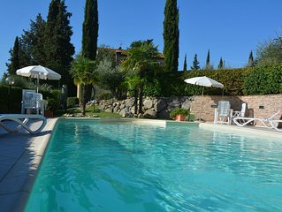 Villa two bedroom with private pool San Gimignano