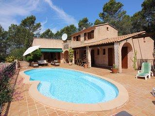 Villa in a charming medieval village in the heart of La Provence Verte