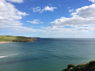 Luxury Apartment, Magnificent Sea Views, Private Access to Beach, Bigbury-on-Sea