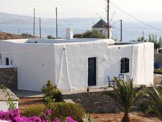 POSEIDON - Belle maison cycladique avec vue sur mer