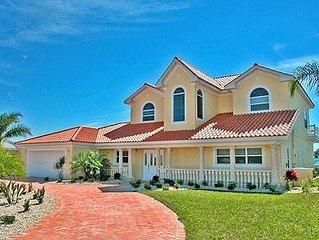 Luxury 5 bedroom villa on Anna Maria Island, Gulf Coast Florida.
