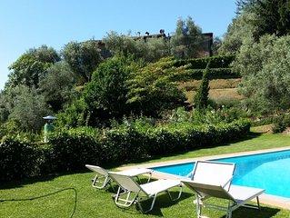 Splendida Casa Panoramica su colline di Lucca, PISCINA PRIVATA. Free WI FI.