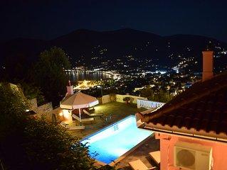 Villa Chrysalis - Panoramic view and private pool