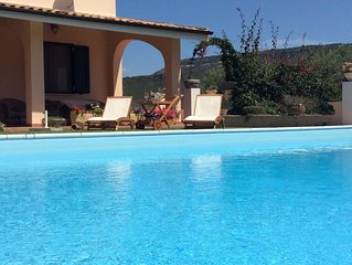 Casa vacanza Alghero: Villa Relax con piscina privata e vista panoramica