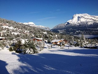 Well Located Beautiful Chalet with heated Spa/Jacuzzi In Saint Gervais/Megeve