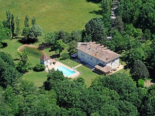 Manor House in the Tarn Valley with Large Pool