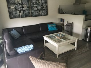 TOPHUISJE, luxe moderne vakantiewoning 250M van strand met strandhuisje en wifi