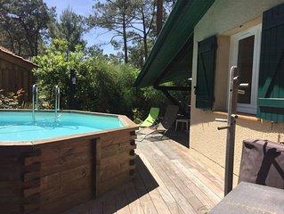 Belle villa avec terrasse 100m² et jardin de 700m², plage à deux pas