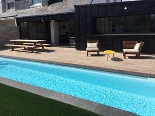 maison avec piscine a deux pas du port de Vannes