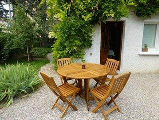 Studio chaleureux 2/4 pers dans maison haut-savoyarde avec espace nature privé