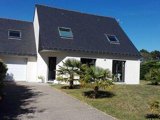 Maison a cote de la plage de Locmiquel