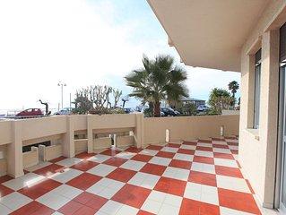 Appartamento Vallecrosia, vicino Bordighera e Nizza Vista Mare con terrazza