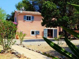 Maison calme et isolée au coeur du vignoble provençal