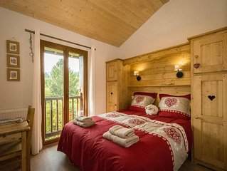 Family friendly 3-bedroom apartment in Samoens close to ski bus and amenities