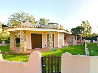 Villa nuova a 250mt dalla spiaggia Campulongu in giardino fronte pineta - VILLAS