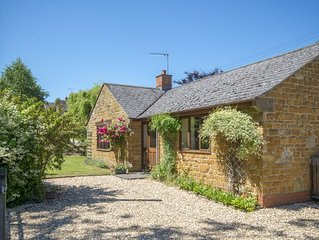 Copperstones, is in quiet idyllic location amid rolling hills in the Cotswolds