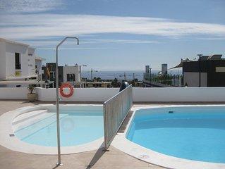 La Cumbre 4A - Sea Views -2 Bed/2 Bath - Ground Floor - Air-Con - UK TV - Wi-Fi