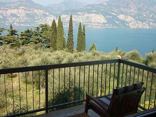 Bilocale con stupenda vista sul Lago di Garda