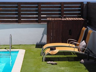 Seaside Private Villa + Heated Private Swimming Pool.