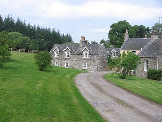 Charming detached cottage in The Cairngorm National Park on the Glenlivet Estate