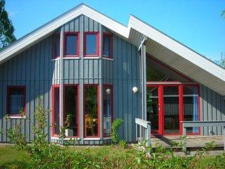 Großes Schwedenhaus im Ferienpark Mirow