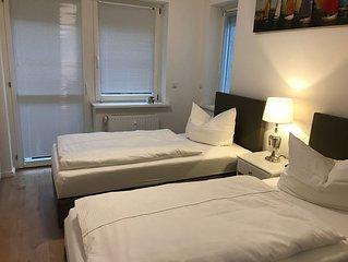 Traumhafte 3 Zimmer Ferienwohnung mit Terrasse in Hamburg Marienthal