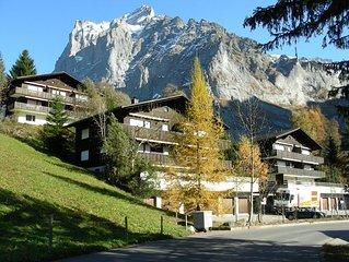 vielfaltige Alpenwelt, ruhige Lage, imposante Bergkulisse