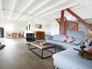 Loft-Maisonette-Wohnung mit aussergewohnlicher Ausstattung auf dem Schauinsland