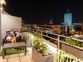 Skyflats Vienna Ring View