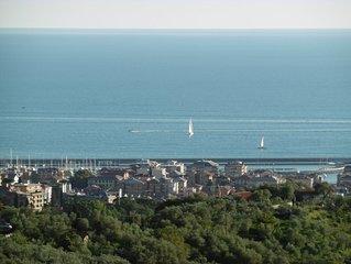 Ferienhaus 'Le Ortensie', paradiesische Lage, nahe Portofino