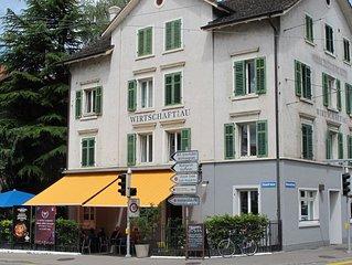 GdN zur Au Apartment 1: Kleine Ferienwohnung mitten in Zürich (1-2 Personen)