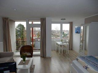 Komfortables Apartment Meerblick Schwimmbad + Sauna im Haus Ferienpark WLAN
