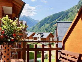 Luxuriöse 2 - Schlafzimmer Ferienwohnung mit wunderbarem Blick in die Berge