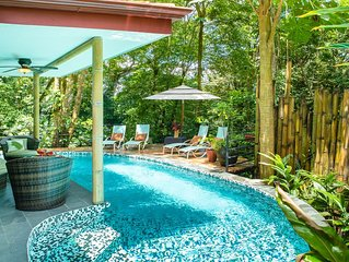 Private Gated Community Rainforest Gem 2BR Aracari Villa with Private Pool. Week
