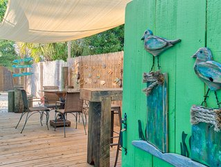 Introducing Boardwalk Beachhouse: 2BR/2BA with Vintage Charm