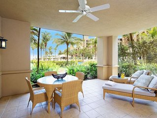 Steps away from 7 Mile Beach Ground Floor apartment Located at the Ritz-Carlton