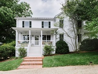 Mountain View Farmhouse | Albemarle Co. Home on 300 Acres | Wineries + Blue Ridg