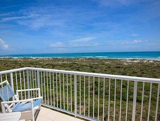 Oceanfront escape! Spectacular ocean views, 2 pools, tennis & elevator!