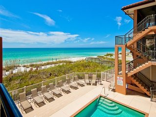 Luxury 3/2 Condo, Beach to Bay Complex w/heated Pool on the Beach and much more!