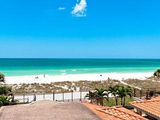 La Casa Costiera #6 - Top Floor Oceanfront Living, Sunset Views & Heated Pool