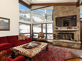 Luxurious ski in/out 3 bedroom condo on Aspen Mountain