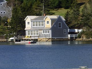 DELIGHTFUL WATERFRONT 2BR/2BA HOME IN CHESTER'S BACK HARBOUR W/DOCK.